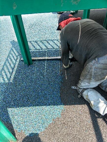Poured Rubber Playground Flooring | New York City | adventureTURF