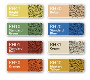Rubber Playground Flooring Surface Color Options | Poured Rubber Materials