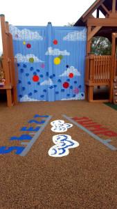 Games on Playground Flooring