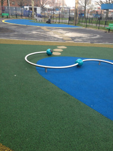 Poured in Place Rubber Playground Surface | New York City | adventureTURF