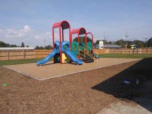 Engineered Wood Fiber (EWF) Chips Mulch Playground