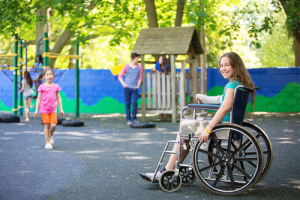 Poured Rubber ADA Accessible Playgrounds | Poured Rubber Inclusive Playgrounds