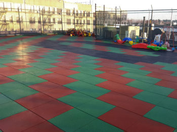 Rubber Playground Tiles