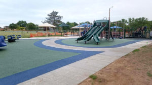 Poured in Place Playground Surface Expansion