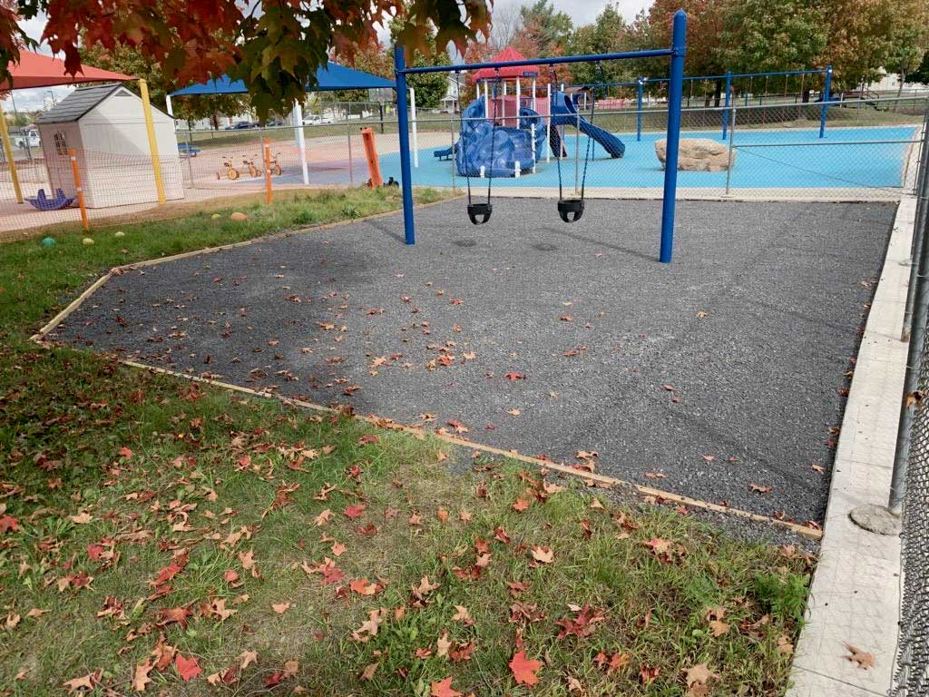 Playground Flooring With Poured In