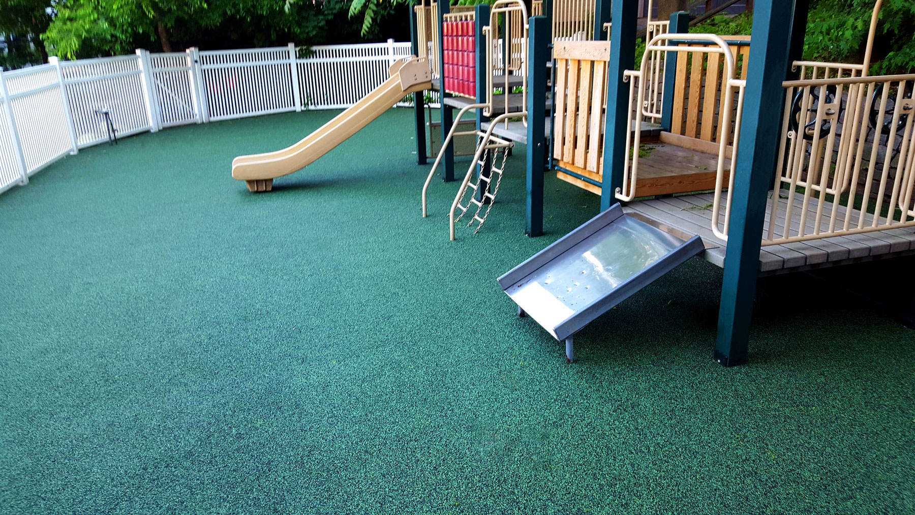 New Playground Surface For Daycare Adventureturf