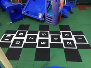 Rubber Playground Tile Flooring Designs
