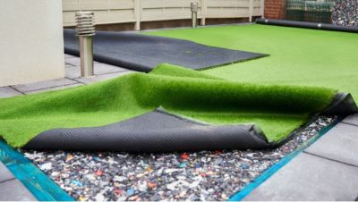 padding for synthetic playground turf